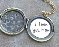 personalized photo lockets s day gift initial necklace gift