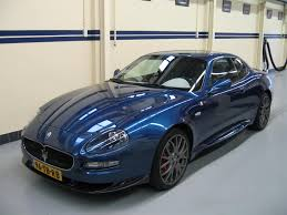 blue maserati maserati gransport mc victory 2006