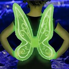 light up fairy wings green led fairy wings glowing wings pixie glowsource com 30