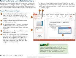 powerpoint design zuweisen folienlayouts designs und master pdf