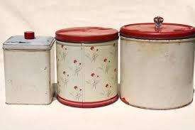 tin kitchen canisters tin kitchen canisters antique tin kitchen canister set white tin