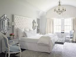 Full Size White Headboards by Lovely White Tufted Headboard With Crystals 49 In King Size