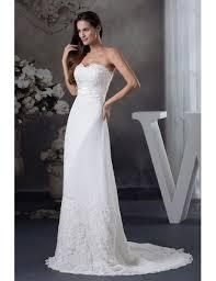 wedding dress trim special lace trim chiffon wedding dress oph1263