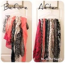 scarf organizer home design ideas