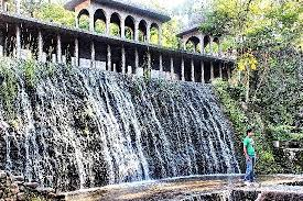 Rock Garden Waterfall Artificial Waterfall In The Park Picture Of The Rock Garden Of