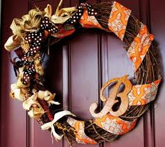 easy diy thanksgiving wreath ideas for last minute decorations