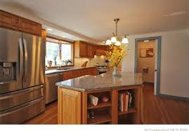 help kitchen wall paint color with oak cabinets and grey granite