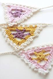 Pretty Bunting Flags The 25 Best Crochet Bunting Pattern Ideas On Pinterest Crochet