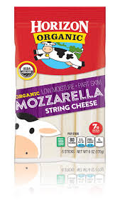 carbs in light string cheese mozzarella string cheese horizon