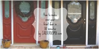 how to makeover your front door in 30 minutes jaderbomb
