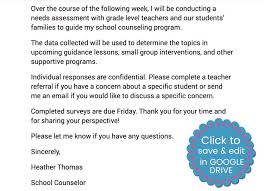 counseling needs assessment made easy with google forms