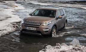 land rover discovery off road tires 2015 land rover discovery sport first drive u2013 review u2013 car and driver