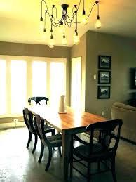 Rectangular Dining Room Lighting Rectangular Dining Room Light Chatel Co
