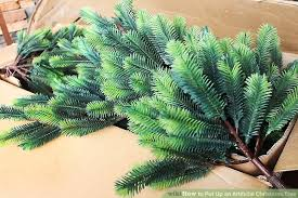 artificial christmas tree how to put up an artificial christmas tree 8 steps