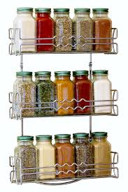 Stainless Steel Wall Spice Rack Kitchen Wall Mounted Racks Spice Racks U0026 Pot Racks