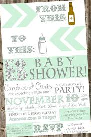 baby shower coed co ed baby shower invitations best 25 coed ba shower invitations