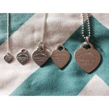 heart charm necklace tiffany images Tiffany co jewelry authentic tiffany co heart sizes for jpg