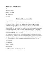 marketing proposal letter format letter format 2017