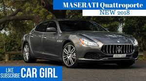 maserati 2018 2018 maserati quattroporte overview youtube