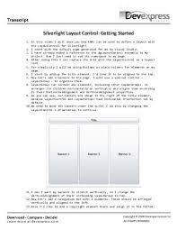 devexpress layout control video silverlight menu control popup menu devexpress