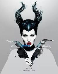Halloween Costumes Evil Queen Sleep Beauty Costume Maleficent Headband Angelina Jolie Horn Evil