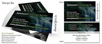 9 99 Business Cards Chiropractic Business Cards