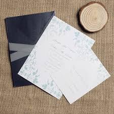 Wedding Invitation Pocket Envelopes Vintage Mint Green Damask Ribbon And Pocket Wedding Invitation Kit