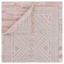 Flat Rug Tribal Taupe And Ivory Flat Weave Area Rug Target