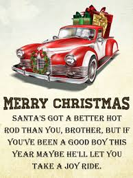 rod christmas card for brother birthday u0026 greeting cards by