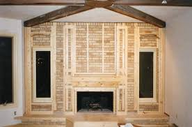 How To Cover Brick Fireplace by Eagle Builders Project History