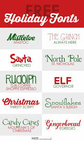 letter to santa template word 38 best christmas letter ideas images on pinterest christmas free holiday fonts from she uncovered fun free fonts
