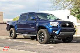 2014 toyota tacoma specifications 17 inch fuel lethal matte black milled on 2014 toyota tacoma