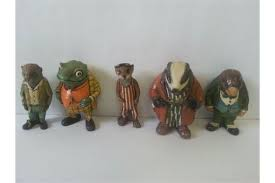 of wind in the willows figurines by cuktv