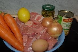 cuisiner du veau en morceau blanquette de veau aux olives balade gourmande de cécile
