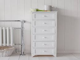 white bathroom shelving unit tall storage cabinets with doors