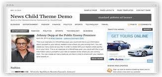 news website template templatesspot