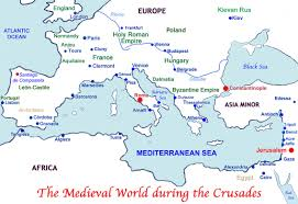 How Did The Treaty Change The World Map by The Crusades To The Holy Land