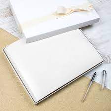 Leather Guest Book Wedding Personalised Leather Guest Book U2013 Begolden