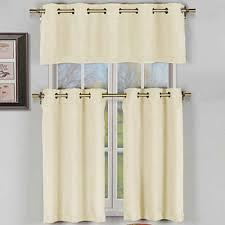 beige kitchen curtains for window jcpenney