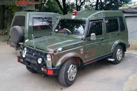 jeep jipsy indian army orders over 2 000 units of maruti gypsy