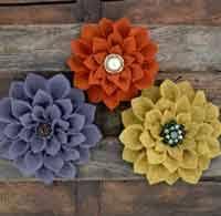 felt flowers 50 free felt flower patterns and tutorials at allcrafts