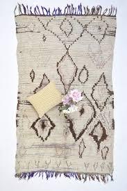 vintage azilal rug mid century moroccan rug vinterior