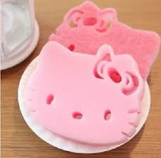 3 cute reusable kitty kitchen wash shower cap cleaning