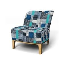 easy chair covers ikea stockholm easy chair in castellar indigo bemz cover