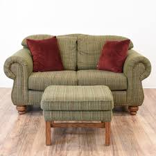 Vintage Curved Sofa by Comfortable Piece Perfect For Kicking Your Feet Up Furnishings
