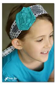 headband wrap fabric flower headband wrap sugar bee crafts