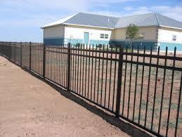 Decorative Iron Railing Panels Wrought Iron Railing Fence 3 Rail Panels Spear Top Flush Bottom