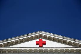 Blue And White Flag Cross The Corporate Takeover Of The Red Cross U2014 Propublica