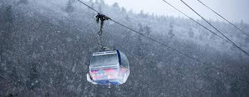winter scenic gondola rides