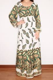 paisley maxi dress long sleeve maxi dress in white by ksclothing